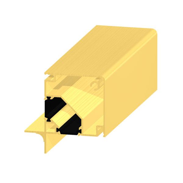 profilo estruso in alluminio a taglio termico - img prodotto grande